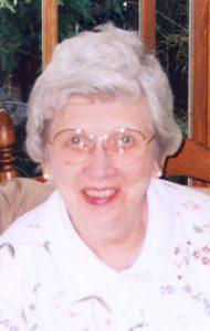 Doris E. (Olson) Adams